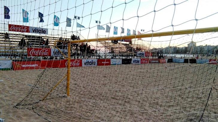 <em>Los ojos de la radio</em>: Beach volley en el Estadio Arenas del Plata