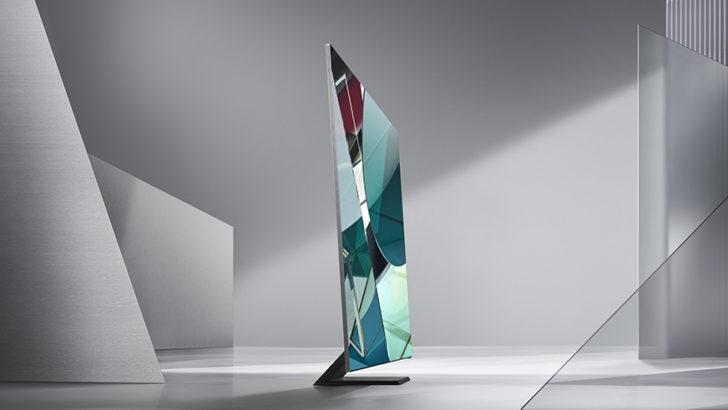 Samsung presentó su línea de QLED 8K en el CES 2020