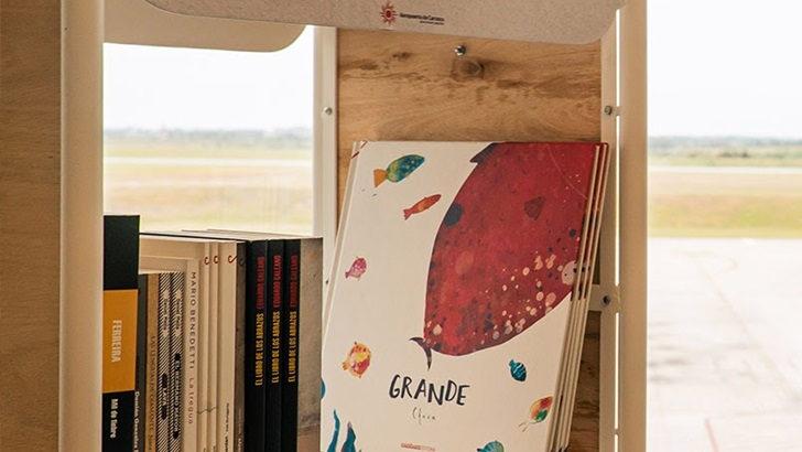 <em>Libros para volar</em>: El Aeropuerto de Carrasco propone una biblioteca gratuita para los pasajeros