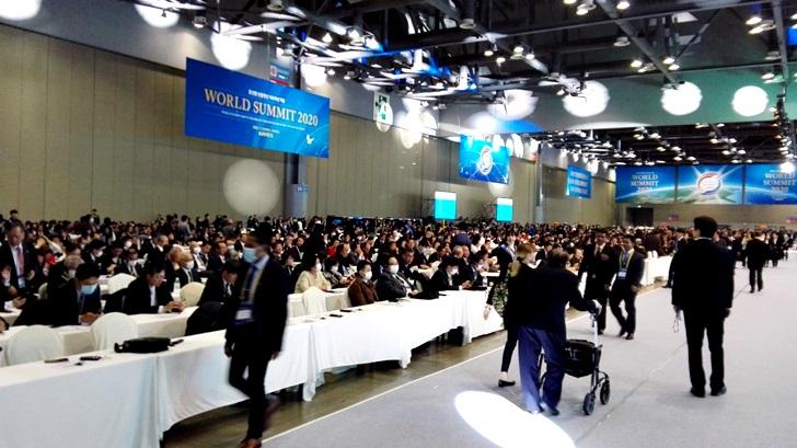 Cumbre Mundial por la Paz 2020 en Seúl, Corea del Sur