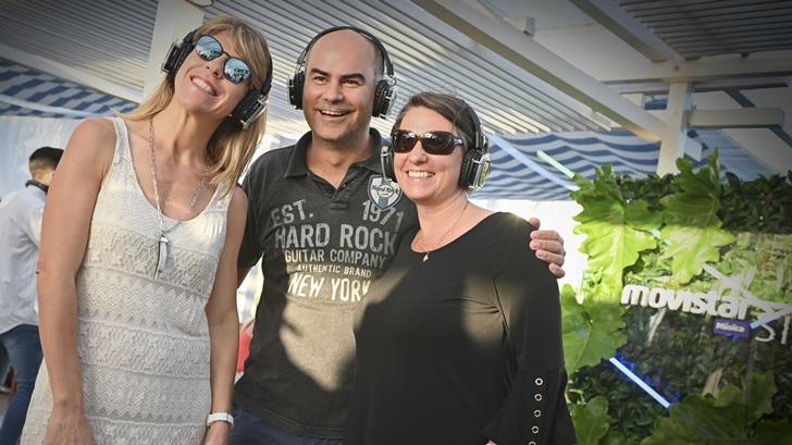 Movistar ofreció fiesta <em>silent</em> en Punta Del Este