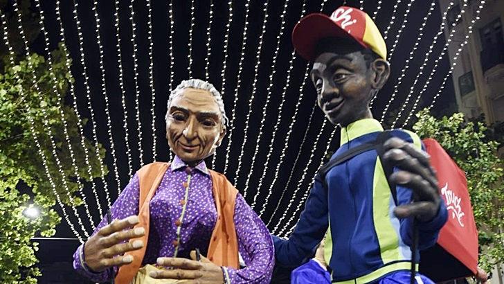 Les Grandes Personnes: Las marionetas gigantes llegan desde Francia al Carnaval uruguayo