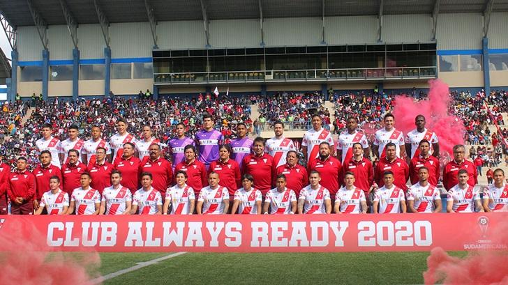 Algunos de los equipos debutantes en la Copa Sudamericana (T06P03)