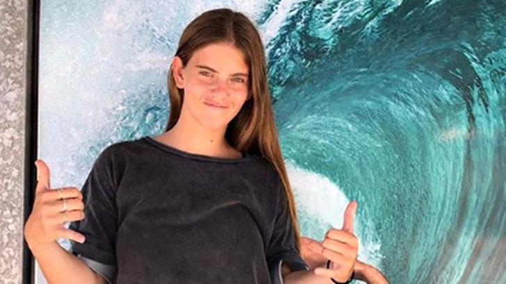 Isabella Desseno consiguió el 4º puesto en el Mundial de surf adaptado en La Jolla (T06P10)