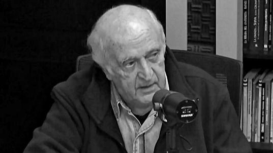 Mauricio Rosencof estuvo hoy en el último segmento de La Tertulia de los Viernes