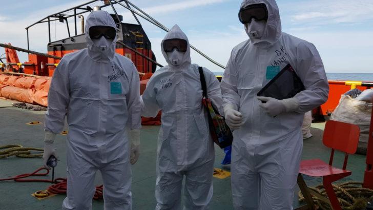 Profesionales del Hospital Británico participaron de misión sanitaria en Crucero