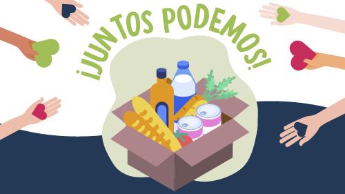 Alianza entre Los Tréboles y Portones Shopping lanza campaña solidaria «Juntos Podemos»