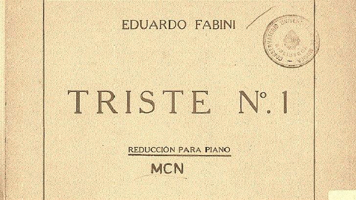 Feliz cumpleaños, Eduardo Fabini (Canción de la Noche T01P07)