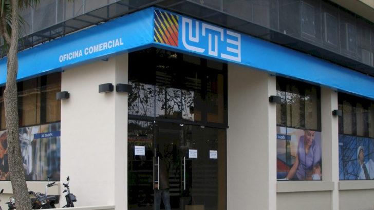 Oficinas Comerciales de UTE reabiertas desde este lunes