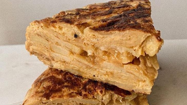 La tortilla reivindicada: Tortiman, cocinero enmascarado (El Degustador Itinerante)