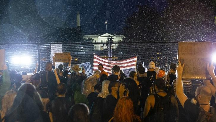 EEUU: El 66 % de la población desaprueba la respuesta de Trump frente a las manifestaciones pacíficas