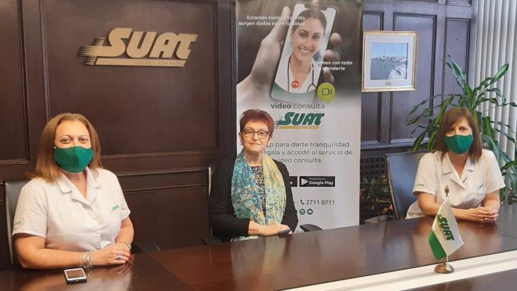 SUAT presentó su App para Video Consulta Médica