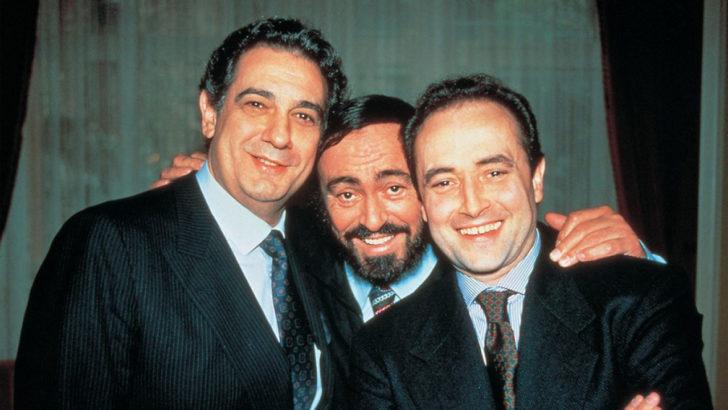 30 años del primer concierto de Los Tres Tenores (Canción de la Noche T01P21)