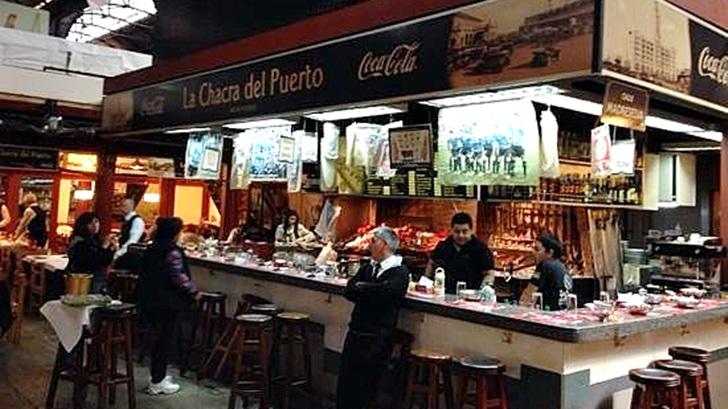 La Chacra del Puerto y Cabaña Verónica en el Mercado del Puerto (El Degustador Itinerante)