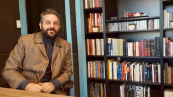 Gabriel Calderón, autor de <em>Ana contra la muerte</em>