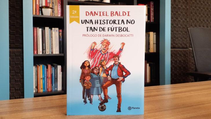 Libros y fútbol con Daniel Baldi