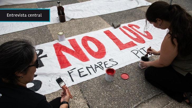 """Juan Gabito (ANEP) ante resolución de Inddhh que acogió  reclamo de Fenapes: """"Cada cartel que aparezca en espacios públicos se va a mandar sacar; no manda la Inddhh, mandan las autoridades legítimas"""""""