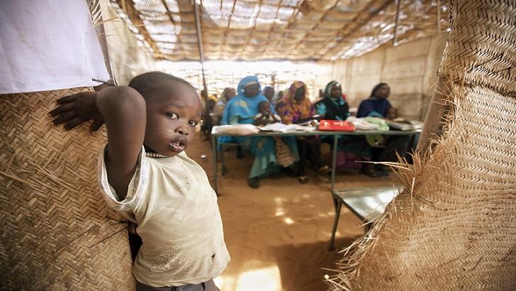 Campamento de refugiados en Darfur - Sudan