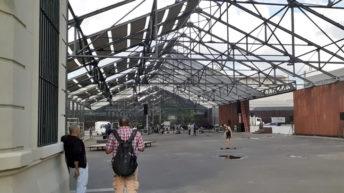 <em>Los ojos de la radio</em>: El destacado trabajo de reciclaje en plaza Las Pioneras
