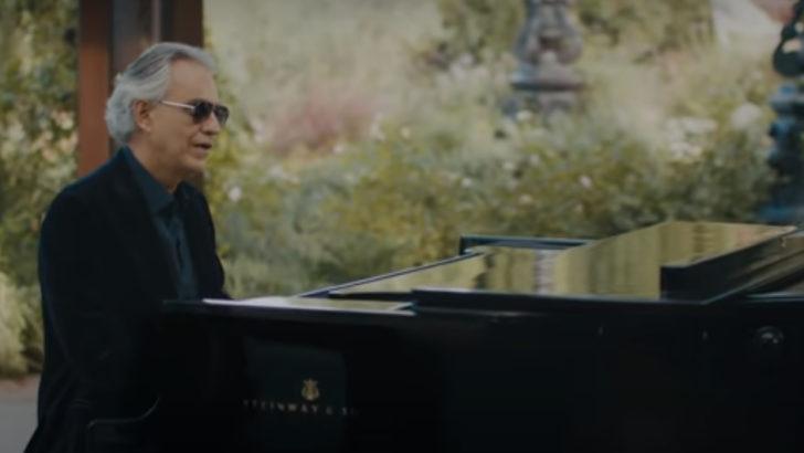 Andrea Bocelli presenta «Believe»