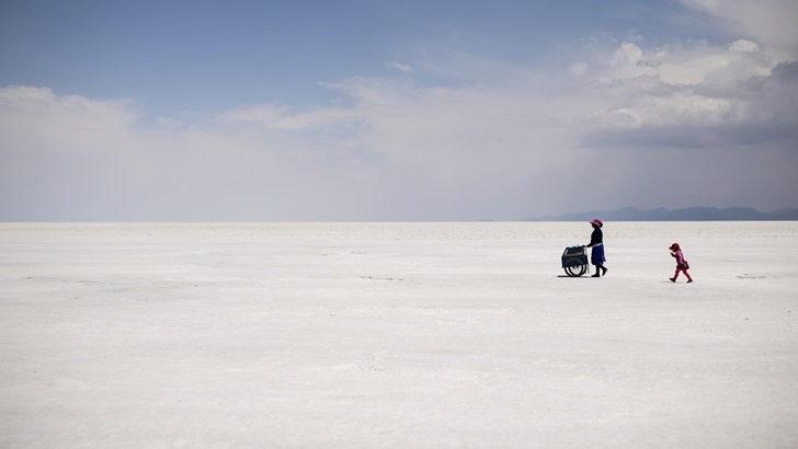 Especial de AFP: Un inmenso mar blanco
