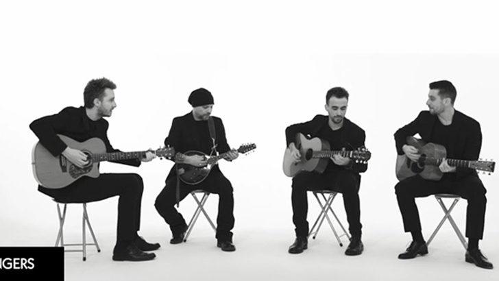 Talentosos guitarristas italianos son furor en redes: <em>40 Fingers</em>