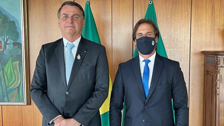 ¿Qué deja la primera reunión oficial entre Lacalle Pou y Bolsonaro?