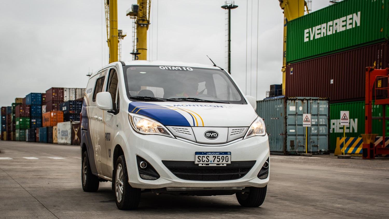El BYD T3 eléctrico pasó a formar parte de la flota de Montecon