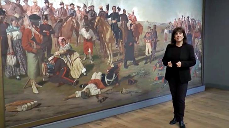 Los ojos de la radio: El Museo Histórico Nacional conmemora los 210 años de la Batalla de las Piedras