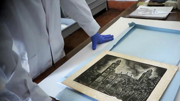 Los ojos de la radio: Visita virtual a la Sala de Conservación del Museo Histórico Cabildo