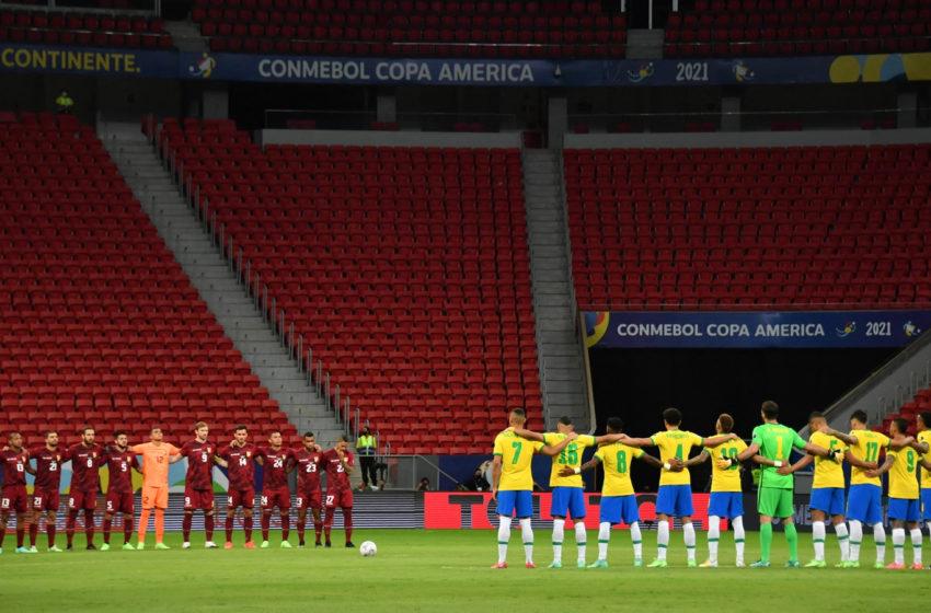 Comenzó la Copa América en Brasil a pesar del complejo contexto sanitario