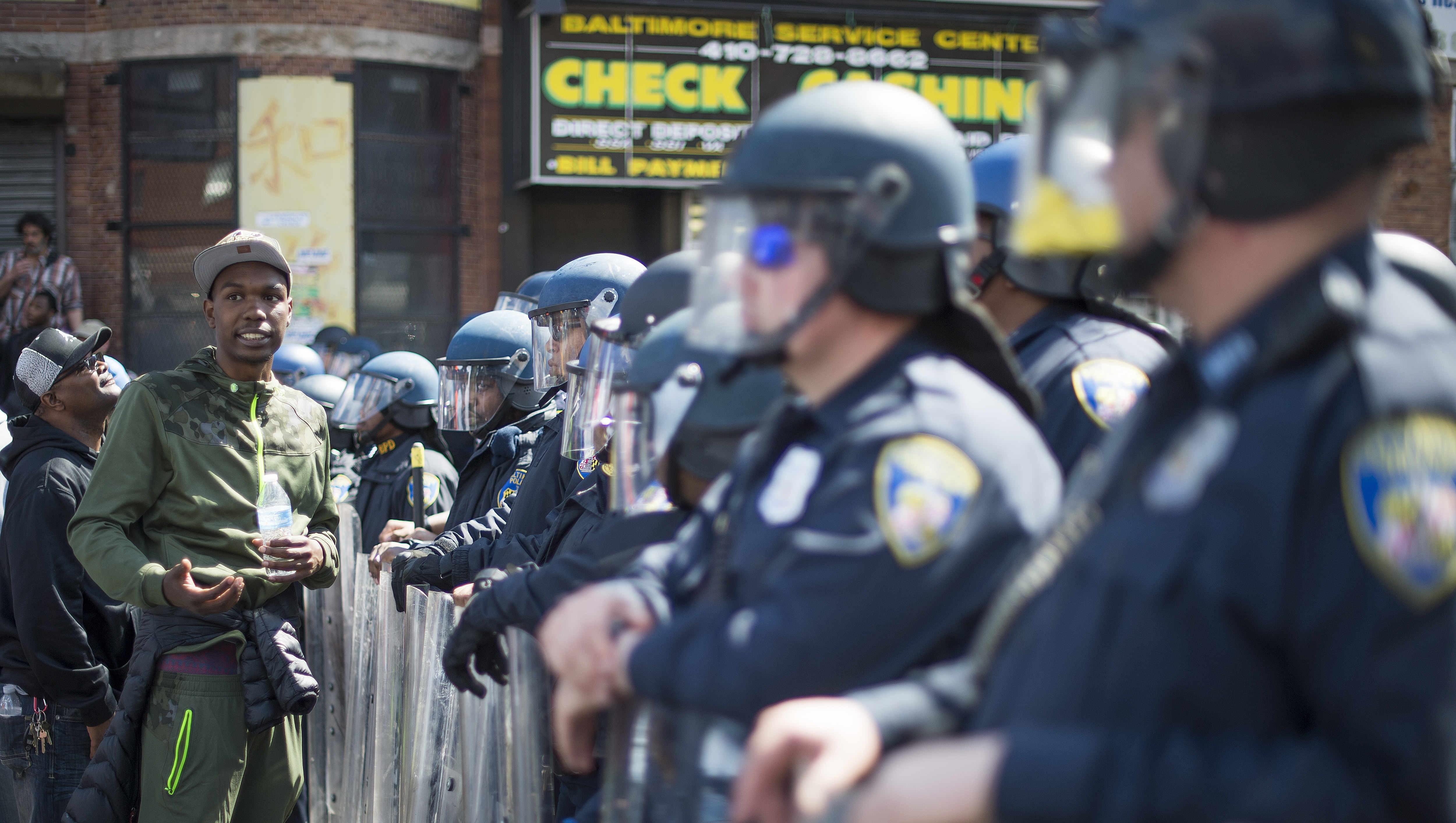 Violencia en Baltimore