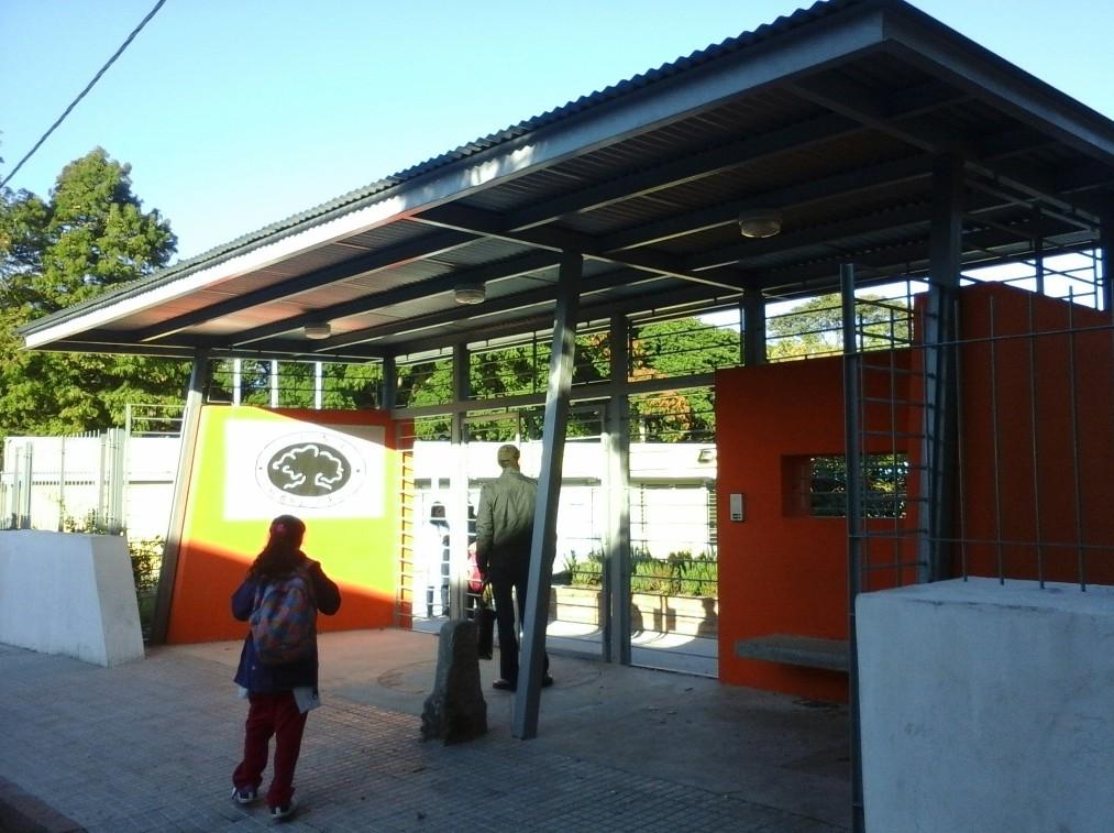 Reciclaje de edificio escolar