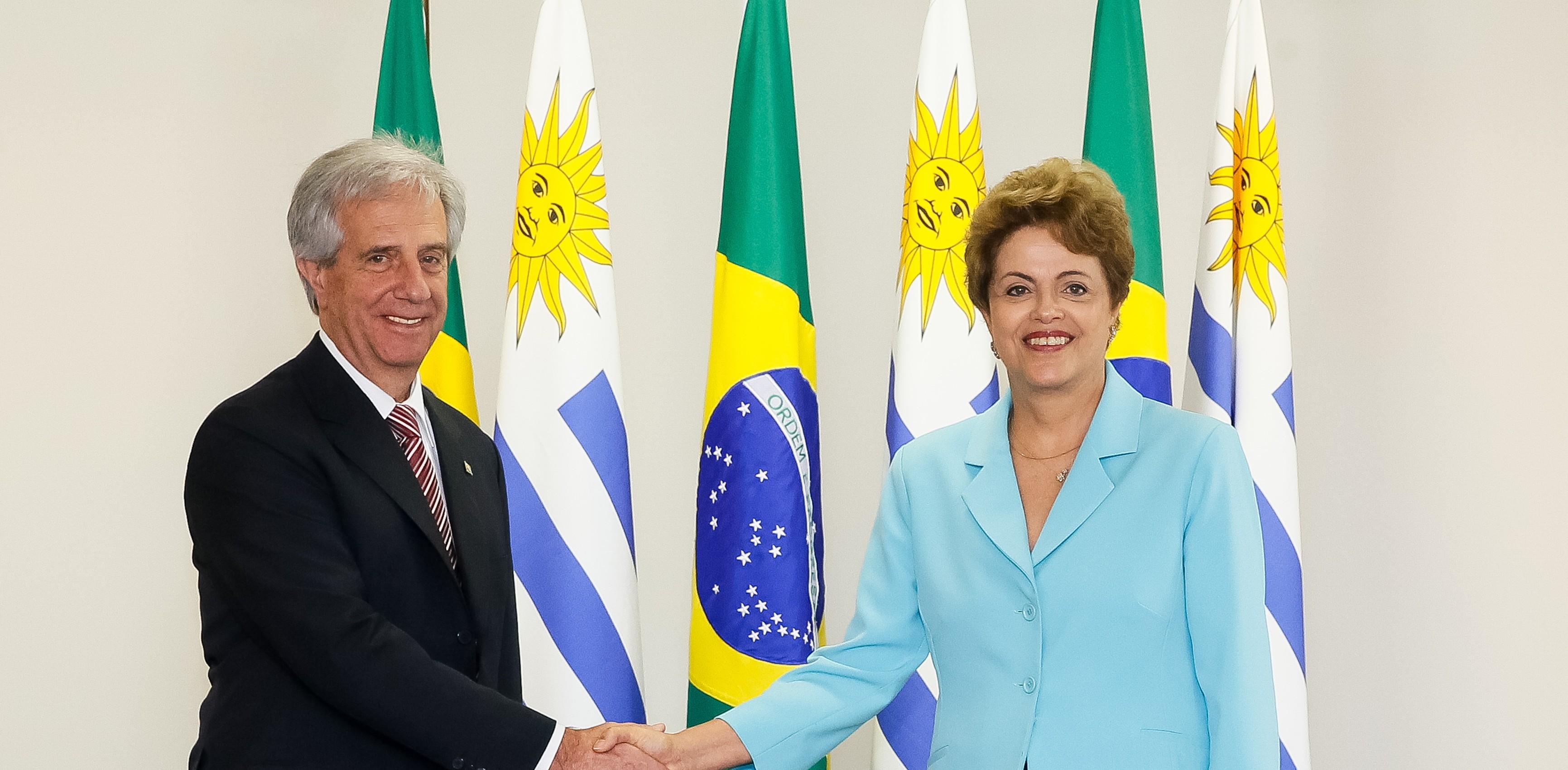 Vázquez y Rousseff: Iniciativa para replantear el Mercosur