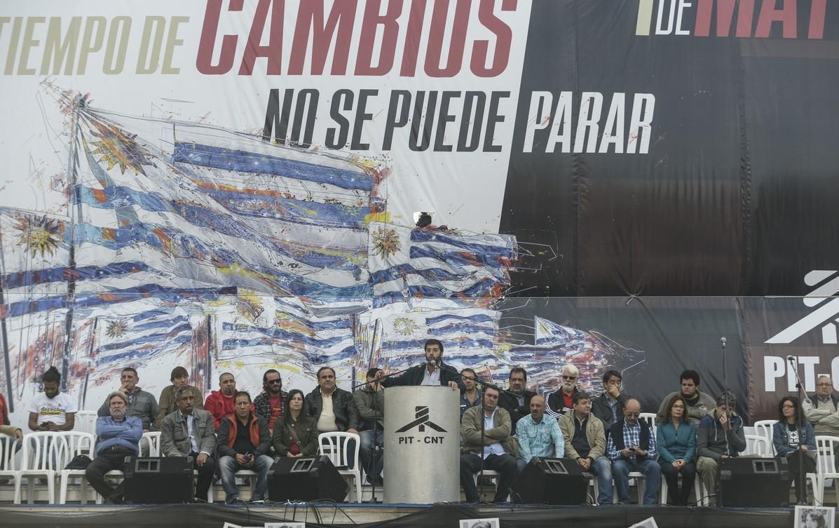 Primero de mayo: discurso del PIT-CNT