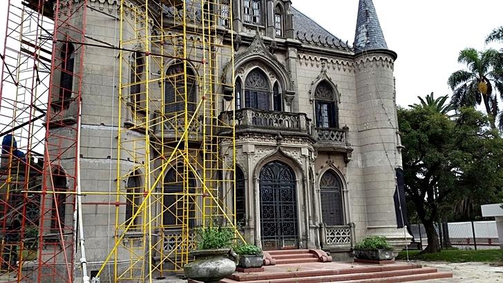 Prado: Restauran destacada casa quinta del patrimonio arquitectónico de Montevideo