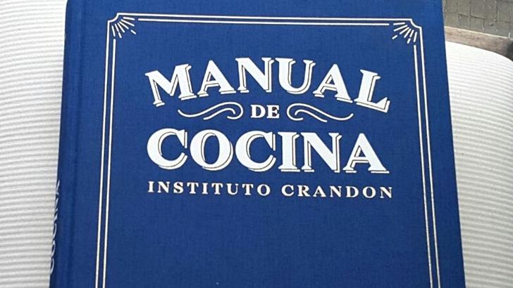Nueva edición del Manual de Cocina del Instituto Crandon