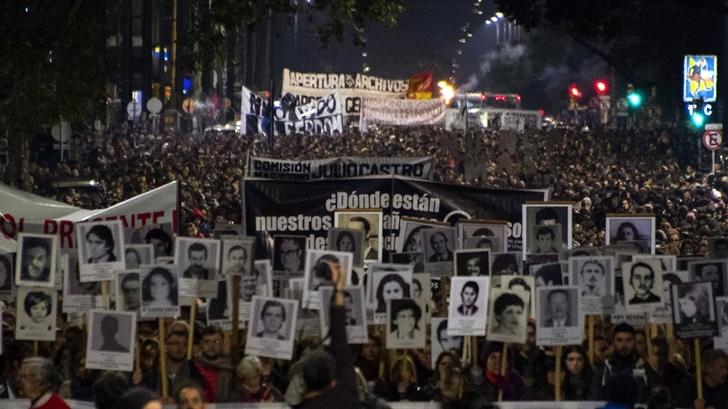 Marcha del Silencio: «Uruguay es chiquito y estamos hablando de 200 desaparecidos. Si hubiera realmente una orden y voluntad política de encontrarlos, sería muy fácil»