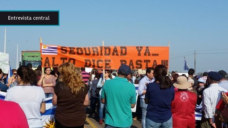 Inseguridad en Salto «trasciende banderas políticas»: «Si bien siempre hubo delito, nunca hubo delitos tan violentos»