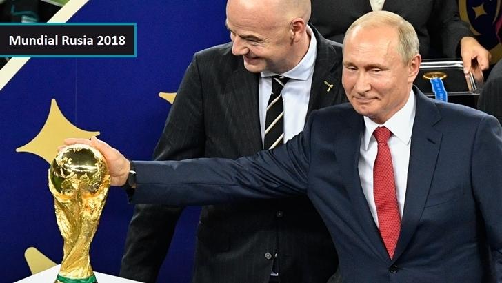 Un balance del Mundial: Una lavada de cara para Rusia y Vladimir Putin