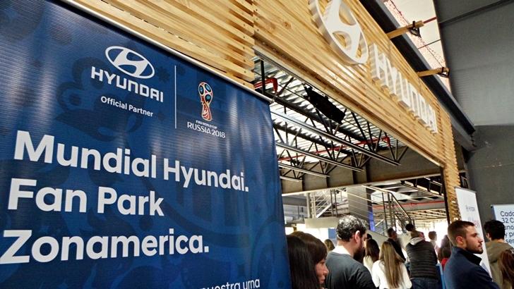 Hyundai en Zona Celeste de Zonamerica