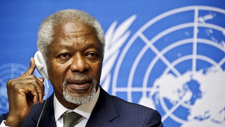 Kofi Annan, ex secretario general de la ONU, falleció a los 80 años
