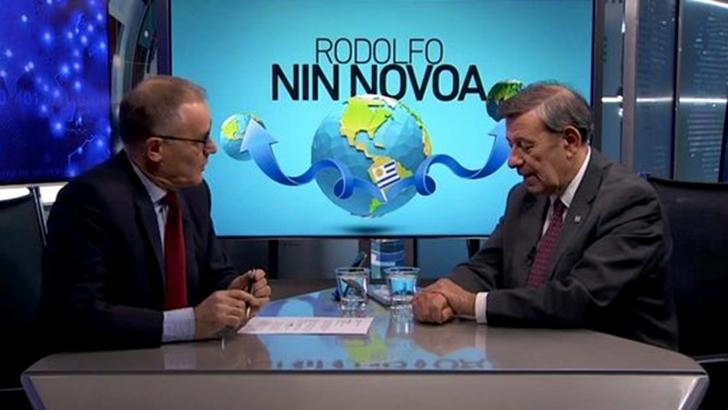 """Rodolfo Nin Novoa: """"No aguantaríamos ni quince minutos fuera del Mercosur"""""""