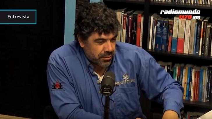 Juan Castillo sobre Óscar Andrade: «Es un hombre probado en la lucha» y «capaz de entusiasmar a varios estratos de nuestra sociedad»