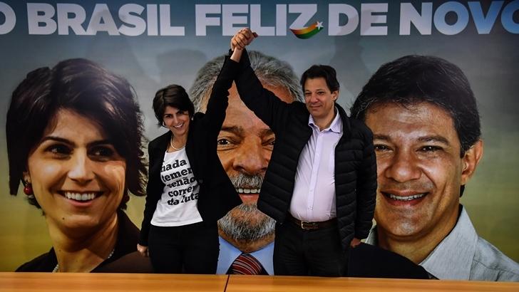 Fernando Haddad, sucesor de Lula da Silva en el PT, es «un candidato con luces y sombras»