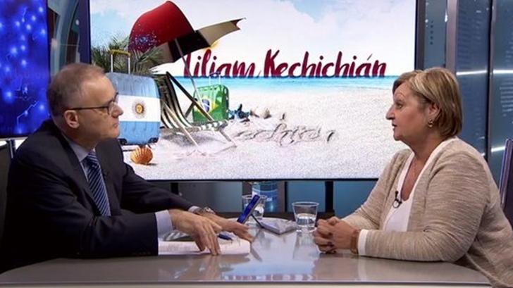 Liliam Kechichián: Gobierno, intendencias y privados armamos «un paquete muy atractivo de ofertas para tentar a los argentinos y uruguayos»