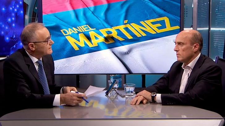 """Daniel Martínez considera que sacar al ministro del Interior Eduardo Bonomi """"puede ayudar"""" al Frente Amplio en la campaña electoral"""