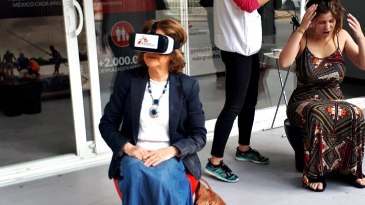 Médicos Sin Fronteras y una experiencia de realidad virtual: En el Mediterráneo con migrantes