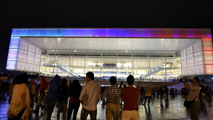 Dirigentes de la oposición cuestionan acto de Vázquez en el Antel Arena