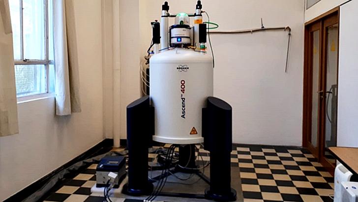 Los ojos de Rosario: Laboratorio de resonancia magnética nuclear en la Facultad de Química